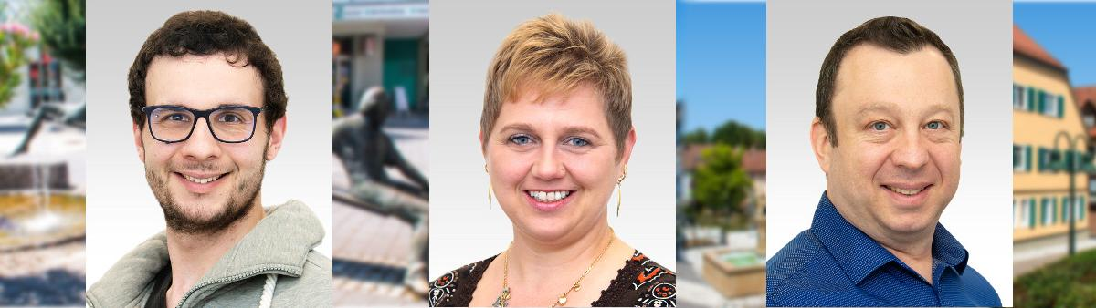 Gemeinderatswahl 2019: Maximilia Epple - Anita Weber - Markus Binus